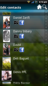 Add your Facebook contacts to Android caller ID