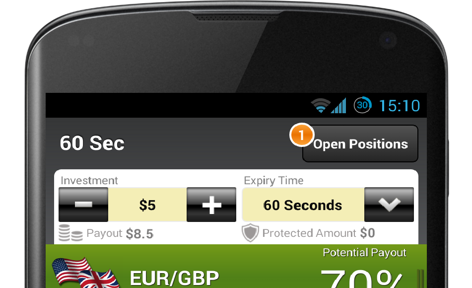 Binary options android app