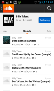 SoundCloud - Billy Talent